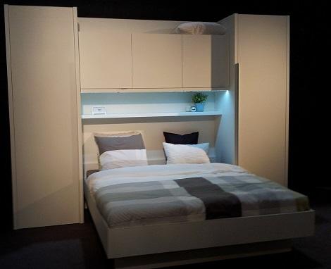 bovenbouwkamer slaapkamer met kast boven bed_bedkast_brugkamer_bed 90 140 160 breed_vechio_boon