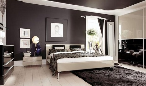 Hulsta Metis plus slaapkamer design, zand kleur, beige hoogglans ...