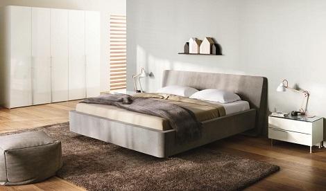 boxspring bed met bedlade witte gehoor geven aan uw huis