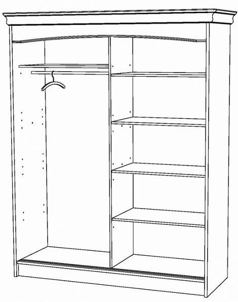 ... twee deuren, kersen gelakt hout,sk theo bot,zwaag,klassieke slaapkamer