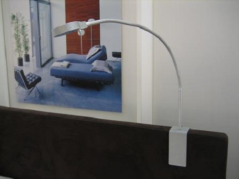 swissflex aan het hoofdeinde bed aluminium sokkel of stof with bed verlichting leeslamp