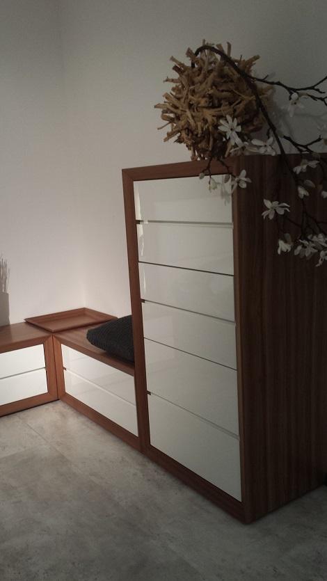 carre ladenkast kersen hoogglans 6 laden hoog 130 cm design modern theo bot bed kast